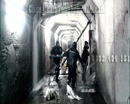 chống thấm hành lang đập thủy điện