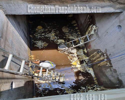 chống thấm hồ nước thải