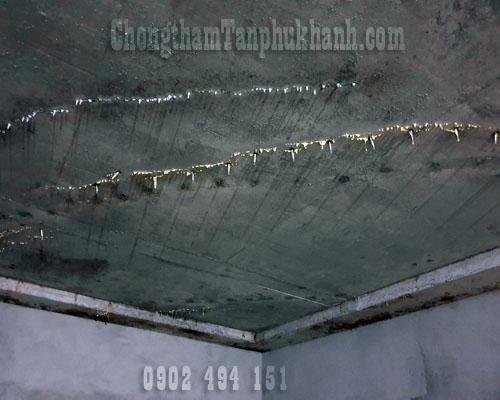 chống thấm sàn tầng hầm