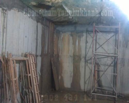 chống thấm tường tầng hầm
